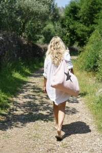bolso saco con estrella