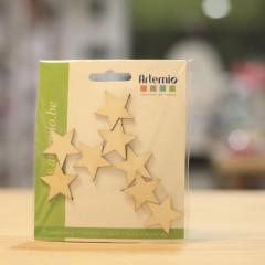estrellas de madera