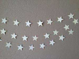 guirnalda estrellas etsy