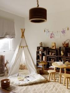 habitacion-infantil-teepee