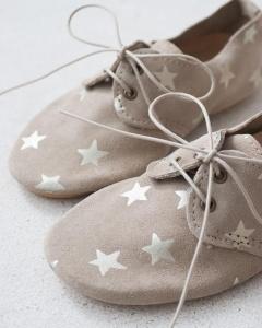 zapatos niños estrellas
