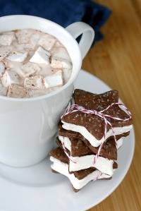cafe y galletas de estrella