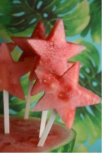 sandía de estrellas