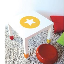 mesa IKEA con estrella