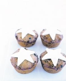 pasteles con estrellas