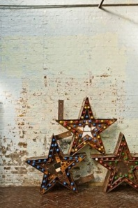 estrellas con luces