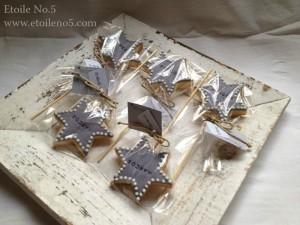 galletas estrella bautizo