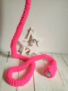lampara rosa fluor