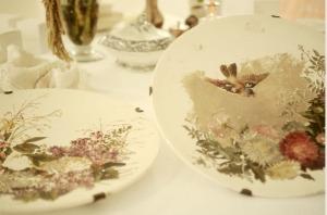 platos magnolia antic