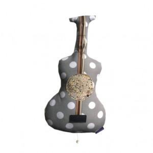 cojin guitarra y estrellas noeuf
