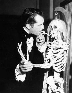 con esqueleto 1963