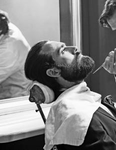 cuidando la barba