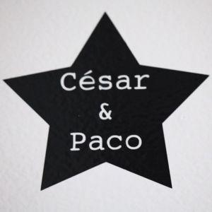 estrella con nombres initialdeco