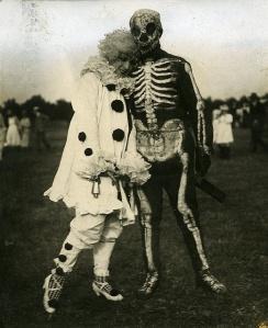 halloween vintage payaso