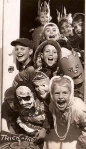 niños halloween antiguo