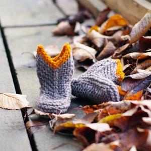 botitas agua tricot