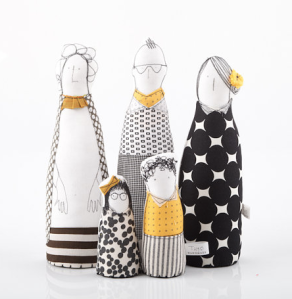 muñecos de trapo Timo Handmade