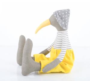 pájaro de trapo Timo Handmade