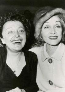 Edith Piaf y Marlene Dietrich3