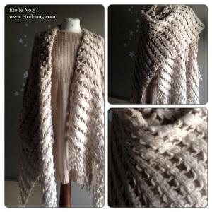 Poncho lana Etoile
