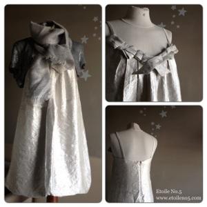 Vestido plata Etoile No.5