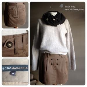 Minifalda militar Etoile No.5