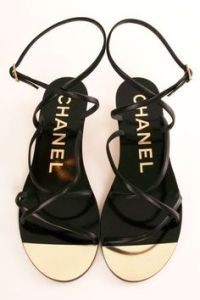 sandalias chanel