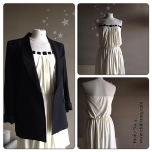 vestido blanco Etoile No.5
