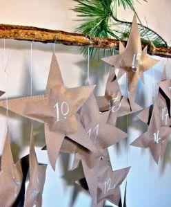 calendario adviento estrellas
