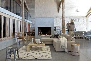 espacio con alfombra marroquí