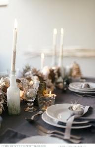 decoración mesa Navidad3