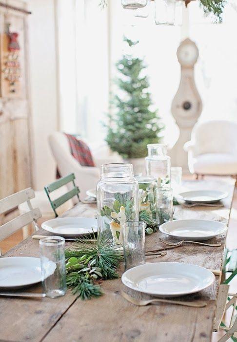 Poner la mesa en navidad for Como poner una mesa bonita