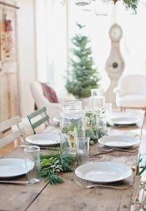 poner la mesa navidad