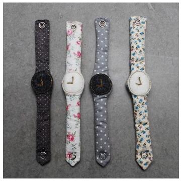 No.74 relojes de tela