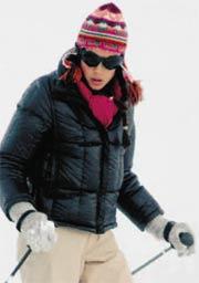 Carlota de Mónaco ski