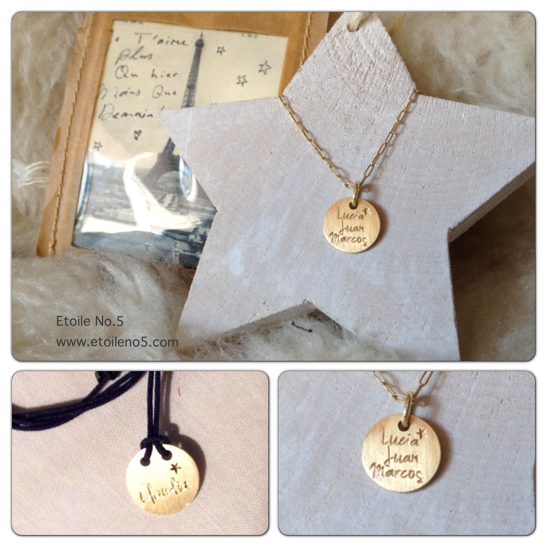 medalla con estrella personalizada