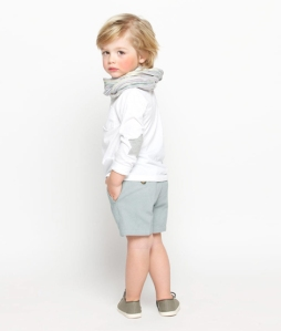 camiseta niño estrella gris