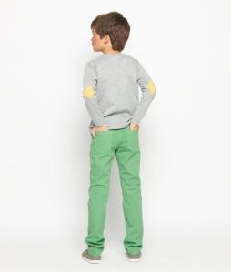 jersey coderas amarillas niño