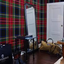 vestidor tartan