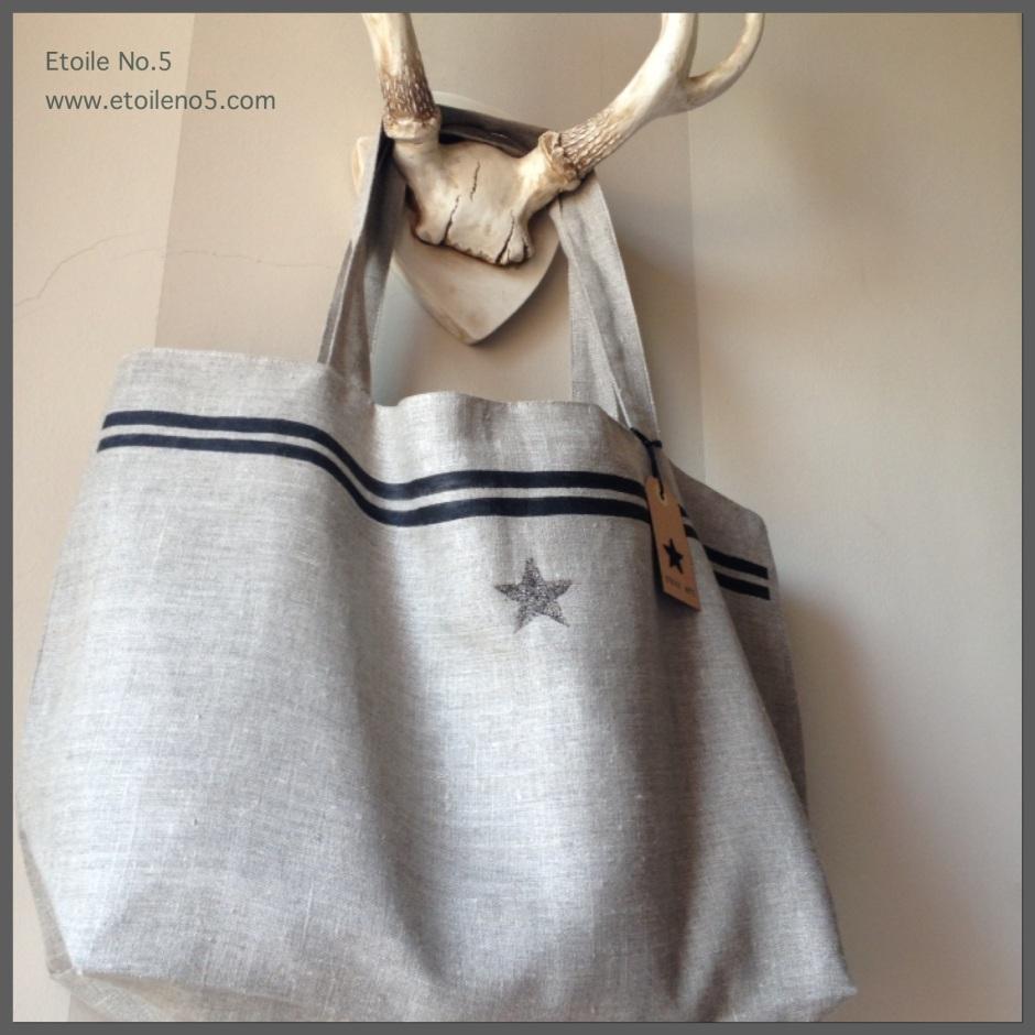 Bolso de lino con estrella Etoile No.5