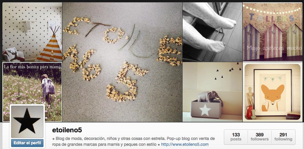 Instagram Etoile No.5