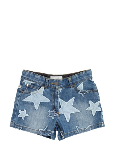 short vaquero estrellas stella mccartney