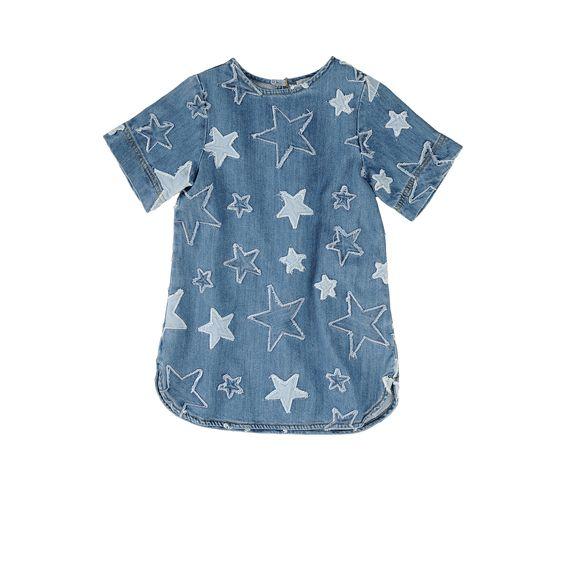 vestido vaquero estrellas stella mccartney