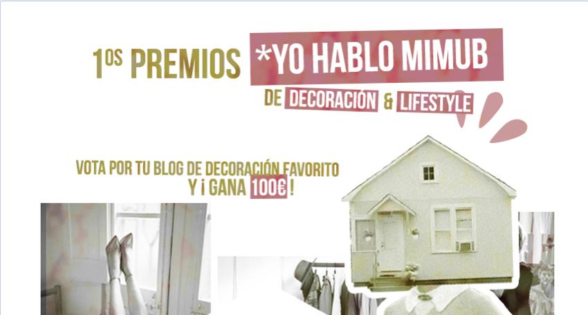 PREMIOS YO HABLO MIMUB