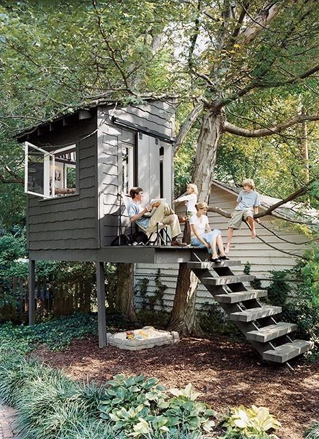 hotel cabañas árboles
