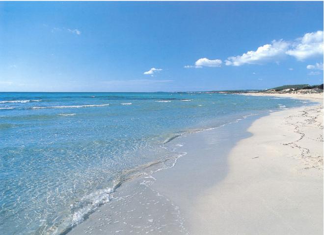 Playa Son Bou Menorca niños